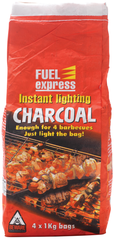 4kg instant charcoal