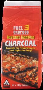 4kg instant charcoal