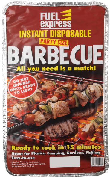 Instant party bbq